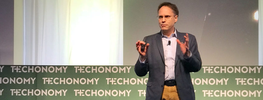 J. Carl Ganter at Techonomy 2018